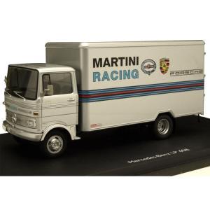 Schuco/シュコー メルセデス・ベンツ LP 608 MARTINI RACING グレー 1/43スケール 03528(同梱・代引き不可)|roomdesign
