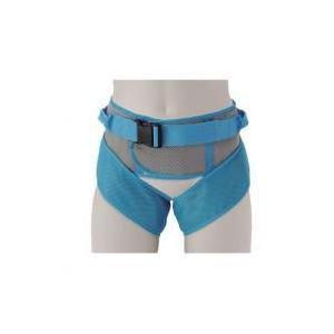 脚と腰の3点にベルトを装着するため、持ち上げる際、体重が分散され、また腰のみの固定より、ずり上がりに...