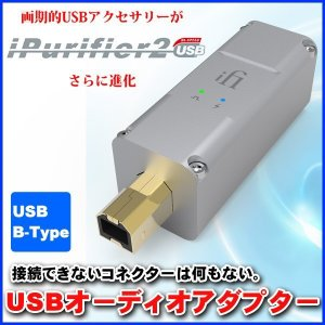 USBオーディオアダプター iFI-Audio nano iPurifier2 高音質 高品質 代引不可 同梱不可 roomdesign