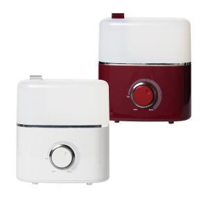 超音波式加湿器 6〜10畳 タンク容量3.0L TOYOTOMI(トヨトミ)シャルドネホワイト ボルドーレッド TUH-N35|roomdesign