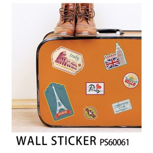 ウォールステッカー トラベルPS60061|roomfactory