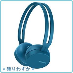 ソニー ワイヤレスヘッドホン WH-CH400 : Bluetooth対応 最大20時間連続再生 マイク付き 2018年モデル ブルー WH-CH400 L|roomy29