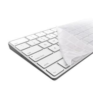 kwmobile 頑丈で極薄なキーボード保護 シリコン製 QWERTY (US) Apple Mag...