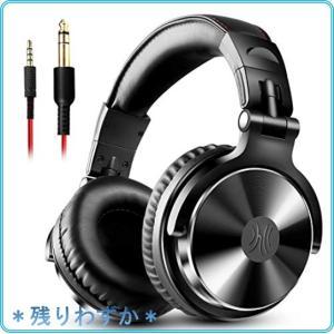 OneOdio Pro10 ヘッドホン 50mmドライバー 有線 マイク付き DJ モニターヘッドホン オーバーイヤー 密閉型 楽器練習|roomy29