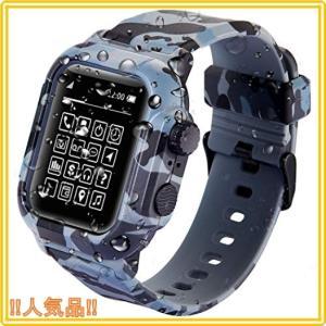 Apple Watch 42mm44mmケース バンド 一体 IP68 完全防水 落下衝撃 吸収 防塵 Apple Watch 42mm ケース バンド 一体 落下衝撃|roomy29