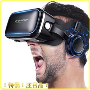 VR ゴーグル VRヘッドセット Betidom VRゴーグル 3D ゲーム 映画 動画 VR グラス メガネ 4.06.5インチ iPhone Android スマホ|roomy29