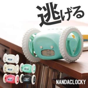 目覚まし時計 置き時計 おもしろ ( ナンダクロッキ カラー )|roomy