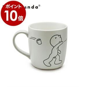 カップ マグ コップ 食器 ホワイト おしゃれ ユニーク デザイン ( PROPAGANDA MUG MR.P BOOMERANG )|roomy