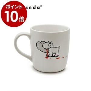 カップ マグ コップ 食器 ホワイト おしゃれ ユニーク デザイン ( PROPAGANDA MUG MR.P&D.DOG HEART )|roomy