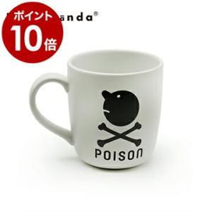 カップ マグ コップ 食器 ホワイト おしゃれ ユニーク デザイン ( PROPAGANDA MUG MR.P POISON )|roomy