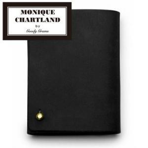 カードケース カード入れ 収納 20枚 革 ( MONIQUE CHARTLAND by GOODY GRAMS LEATHER CARD CASE CLIP S )|roomy