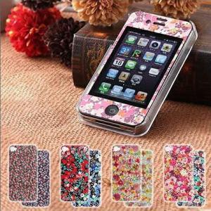 リバティ LIBERTY iPhoneケース iPhoneカバー iPhone4対応 iPhone4S対応 ( Fabric iPhone Sheets with Case )|roomy