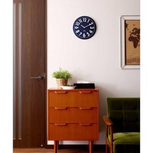 壁掛け時計 掛け時計 かけ時計 ブルーノ エンボスクロック おしゃれ かけ レトロ 北欧 かわいい BCW013 ブルー シンプル[ BRUNO エンボスウォールクロック ]|roomy|08