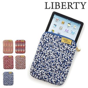リバティ インナーバッグ 花柄 ( escape LIBERTY エスケープ リバティプリント iPadケース )|roomy