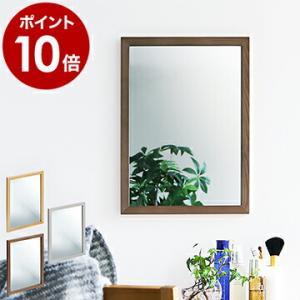 鏡 壁掛け ミラー おしゃれ ウォールミラー 木製 無垢 壁 ウッド 北欧 置き鏡 天然木 スタンド...