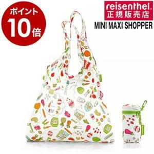 ライゼンタール ショッパー バッグ ポシェット ミニマキシ エコ reisenthel MINI MAXI SHOPPER L パターン|roomy