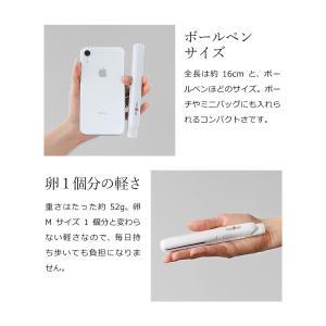 携帯用ヘアアイロン ストレートアイロン ミニ  USB コンセント  mod's hair [ モッズ・ヘア スタイリッシュ モバイルヘアアイロン MHS-0840 ]|roomy|05