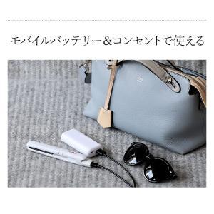 携帯用ヘアアイロン ストレートアイロン ミニ  USB コンセント  mod's hair [ モッズ・ヘア スタイリッシュ モバイルヘアアイロン MHS-0840 ]|roomy|06