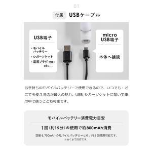 携帯用ヘアアイロン ストレートアイロン ミニ  USB コンセント  mod's hair [ モッズ・ヘア スタイリッシュ モバイルヘアアイロン MHS-0840 ]|roomy|07