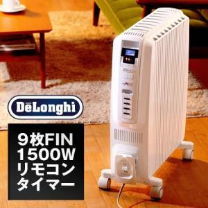デロンギ オイルヒーター ドラゴン おしゃれ デジタル TDD0915W 送料無料|roomy