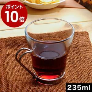 ティーカップ タンブラー マグ 食器 耐熱強化ガラス カフェ 業務用 ( オスロ カプチーノ Oslo 23cl 8oz ) roomy