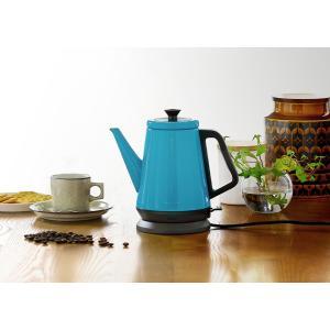 電気ケトル クラシックケトル リーブル レコルト おしゃれ ステンレス 0.8L 800ml 電気ポット コーヒー [ recolte Classic Kettle Libre ] roomy 15