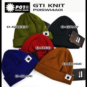 PLAYDESIGN P01 ビーニー ニット帽 プレイデザイン GTI KNIT|rooop503