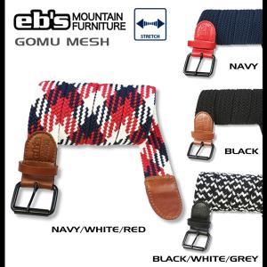 ベルト eb's エビス GOMU MESH|rooop503