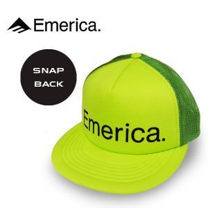 Emerica エメリカ TRUCK STOP 2.0 CAP  帽子 メッシュキャップ スケートボード|rooop503