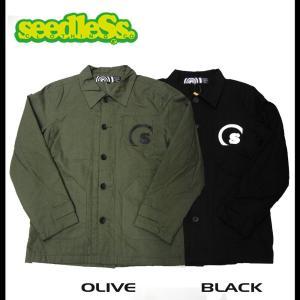 seedleSs シードレス コーチジャケット メンズ rooop503