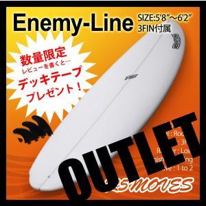 サーフボード ショートボード R5MOVES Enemy-Line アウトレット