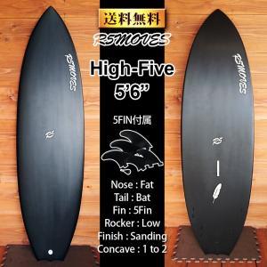サーフボード ショートボード 5フィン SIZE: 5'6  ■R5MOVESのなかで最も短い5'4...
