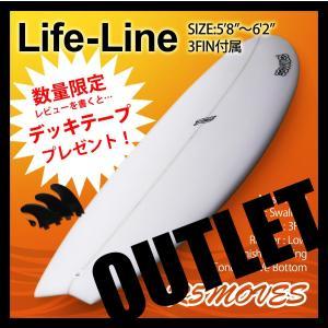 サーフボード ショートボード R5MOVES Life-Line アウトレット