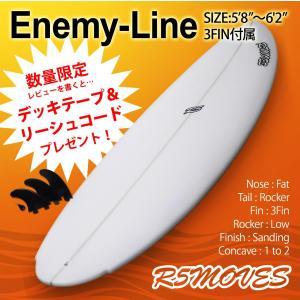サーフボード ショート R5MOVES Enemy-Line Ver,2 5'8 / 5'10 / 6'0 / 6'2|rooop503