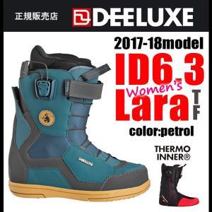 17-18 スノーボード ブーツ ディーラックス DEELU...