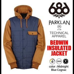686 ジャケット アウター スノーボード BEDWIN JACKET rooop503