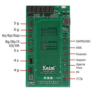 メーカー:KAISI, 型番:k-9208 適応機種:iphone4/5/6/7/Xperia/Sa...
