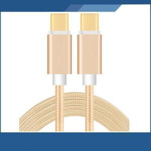 Type-C to Type-C ケーブル 長さ;100cm(簡易梱包) 最大転送速度;10Gbps...