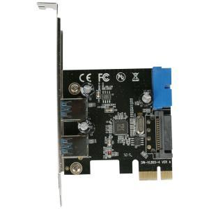 USB3.0 PCI-E 2+1 内部19pinあり SATA電源 ロープロ【ゆうメール】|roop3r|02