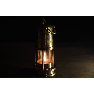 Brass Oil Ship Lantern 17cm (真鍮オイルランタン シップランプ 船灯) ネルソンランプ アンカーランプ 真鍮ランタン roostoutdoors