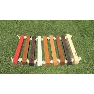Wood Entrance Rope Mat|roostoutdoors