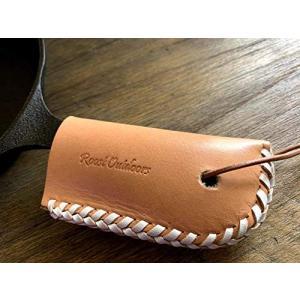 スキレットハンドルカバー 本革 レザー スキレット ハンドル カバー ロッジ ニトスキ 対応|roostoutdoors