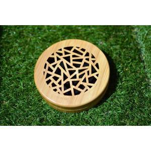 蚊取り線香入れ ホルダー 蚊遣り 木製|roostoutdoors