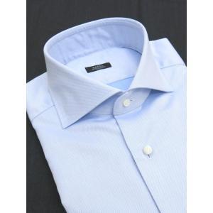 BARBA/バルバ/ドレスシャツ/サックスブルー/bar301405|rootweb