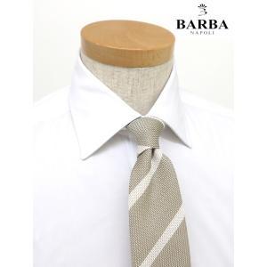 BARBA/バルバ/ドレスシャツ/ストレッチコットン/セミワイド/ホワイト/bar340601|rootweb