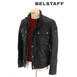BELSTAFF/ベルスタッフ/ブルゾン/ワックスコットン/RACEMASTER/ブラック/bel341601|rootweb