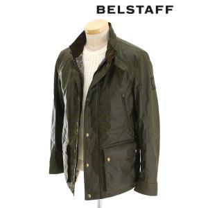 BELSTAFF/ベルスタッフ/ブルゾン/ワックスコットン/NEW TOURMASTER/オリーブ/bel341603|rootweb