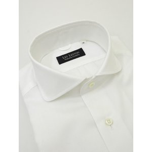 LES LESTON/レスレストン/ラウンドワイドカラーシャツ/ロイヤルオックス/ホワイト/les320401 rootweb