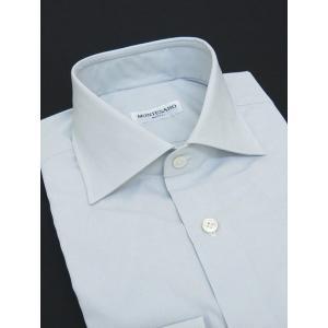 MONTESARO/モンテサーロ/ドレスシャツ/ワイドカラー/ライトグレー/mot301602|rootweb