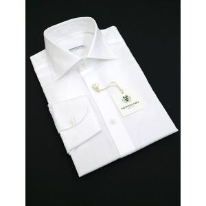 MONTESARO/モンテサーロ/ドレスシャツ/ワイドカラー/ホワイト/mot302201 rootweb